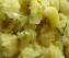 Салата с варени картофи и лук