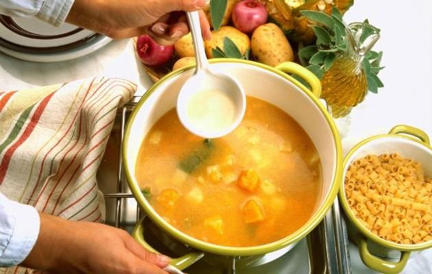 Как да направим застройка на супа?
