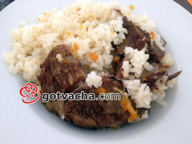 Рецепта за свинско с ориз